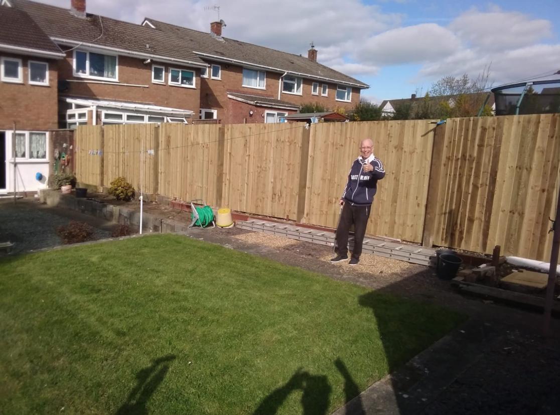Garden Fencing bridgend