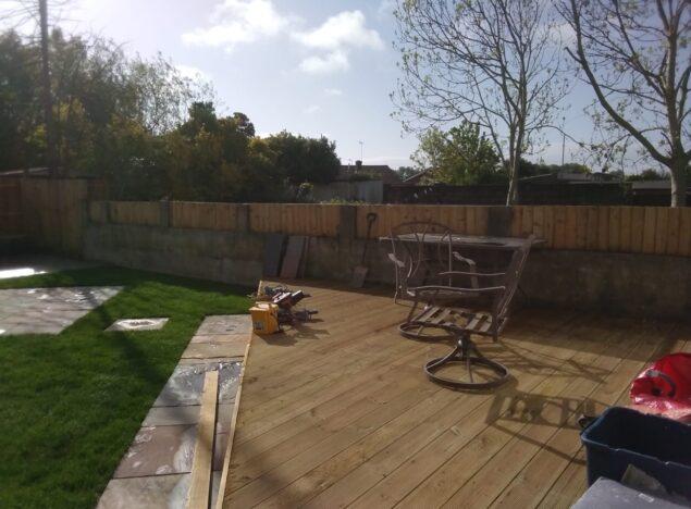 garden fencing services newport