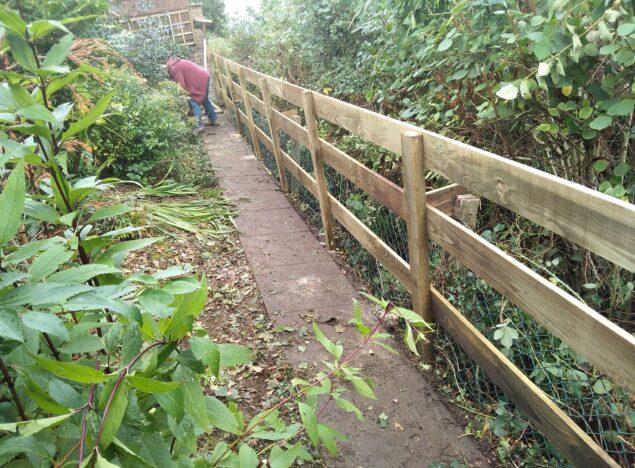 Garden Fencing caerphilly