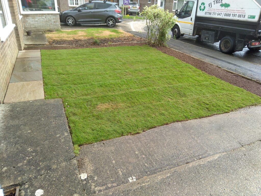 New Lawn turfing and construction Bridgend